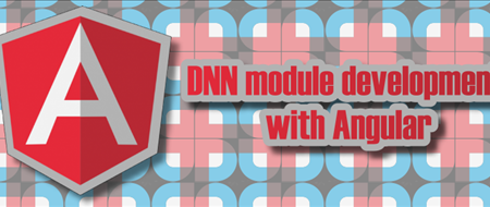DNN module development with Angular