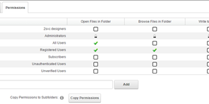 Quick Tip - Setting File / Folder Permissions in DNN
