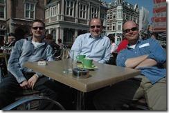 Leigh Pointer, Erik van Ballegoij and myself in April 2007