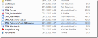 Sln file